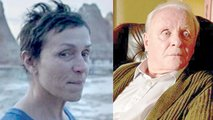 "La actriz Frances McDormand en ""Nomadland"" y Anthony Hopkins en ""The Father"". VARIETY"