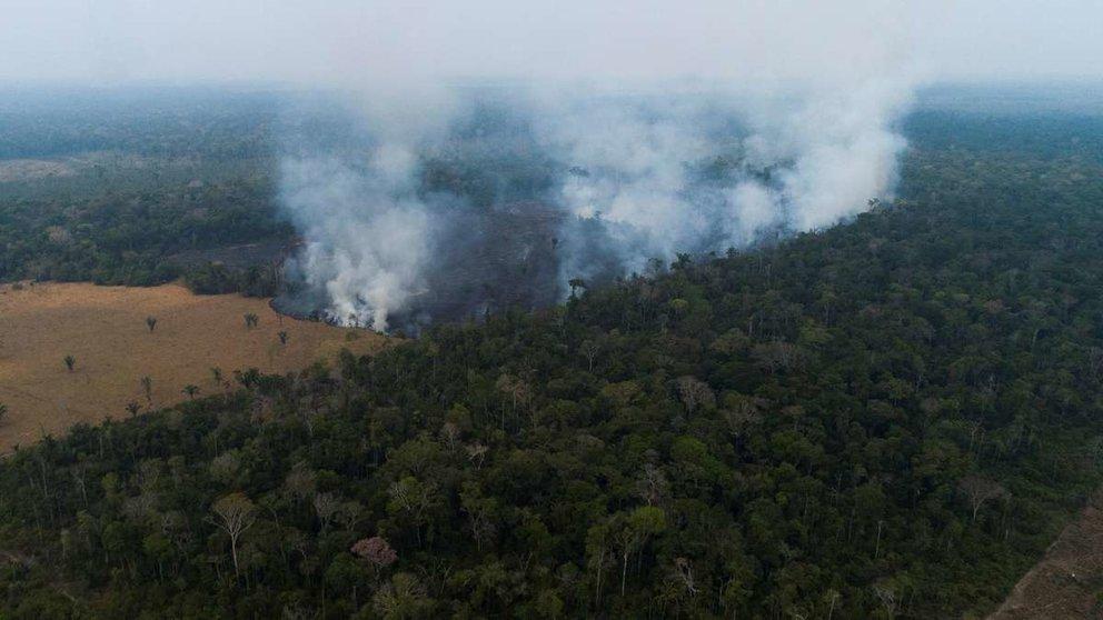 Incendio en la Amazonía (2019). EFE