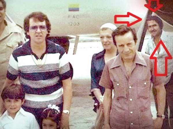 """Chespirito"""" participaba en las fiestas de Pablo Escobar"""