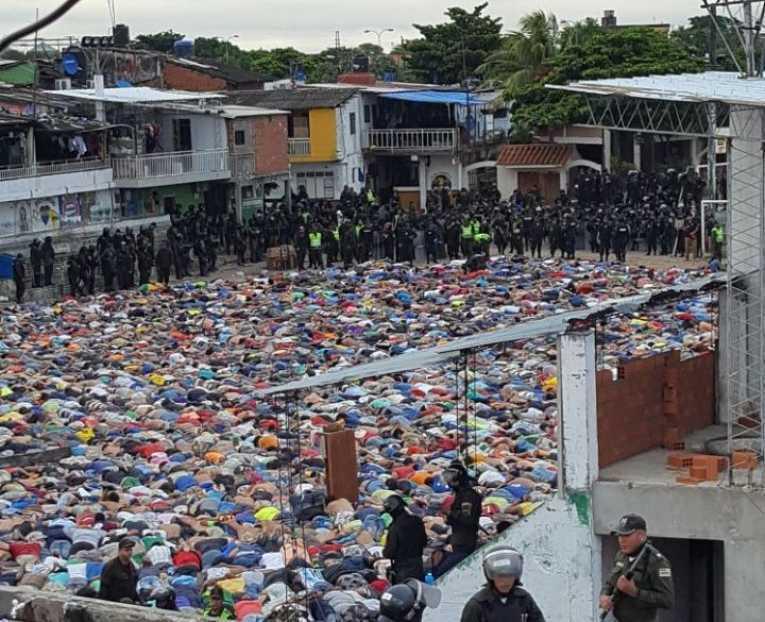Gobierno revela que operativo en Palmasola se realizó ante riesgo ...