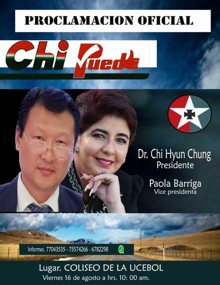 Pastor coreano Chi Hyun Chung es el candidato a la presidencia por ...