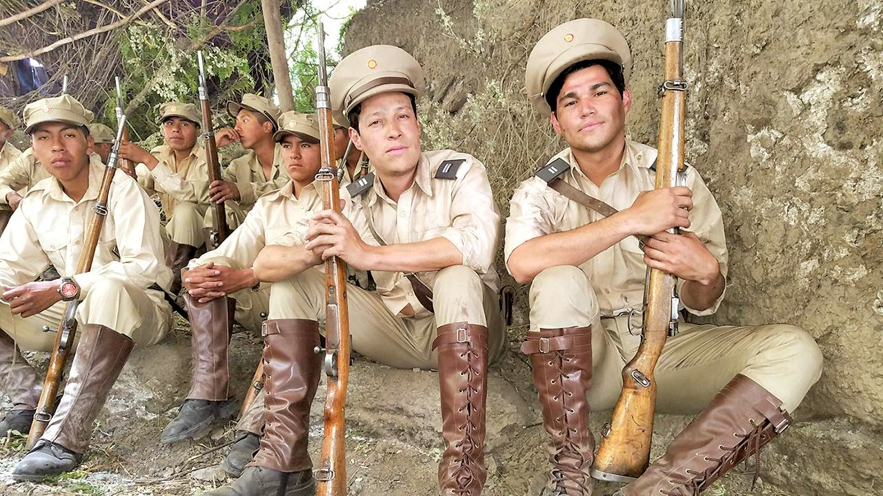 """Fuertes"""" revive en el cine la Guerra del Chaco - Cultura - Opinión Bolivia"""