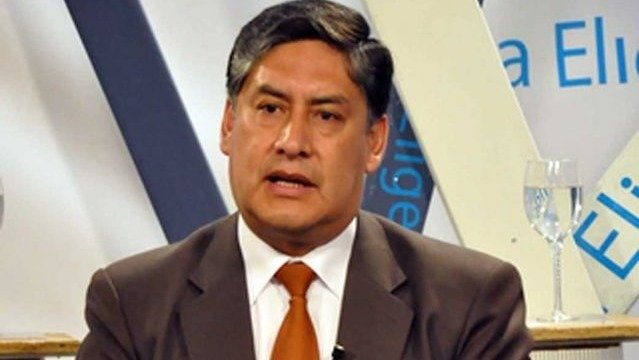 El fiscal General del Estado, Juan Lanchipa.