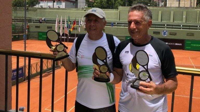 Tenista Benavides, campeón en +70 en Chile - Opinión Bolivia