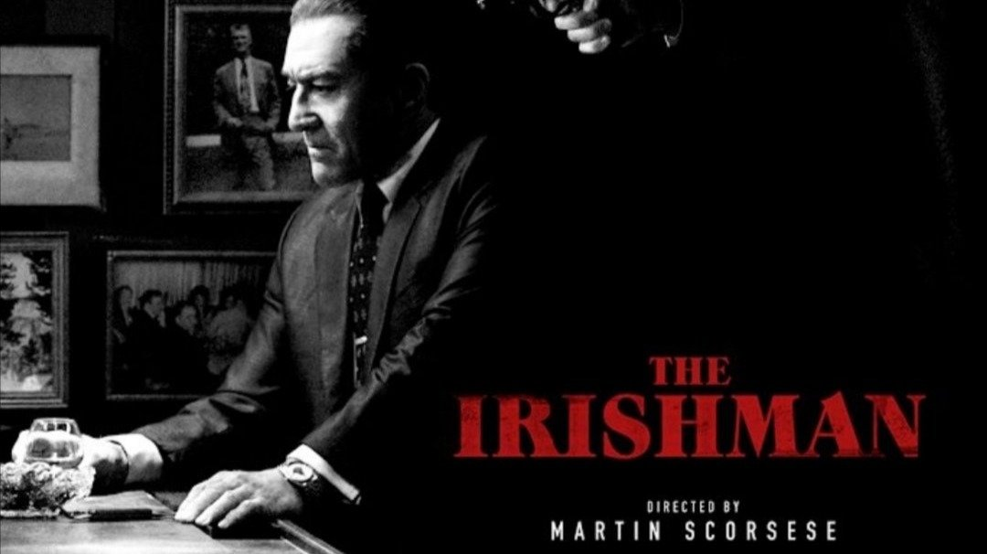 "Afiche de ""The Irishman""."