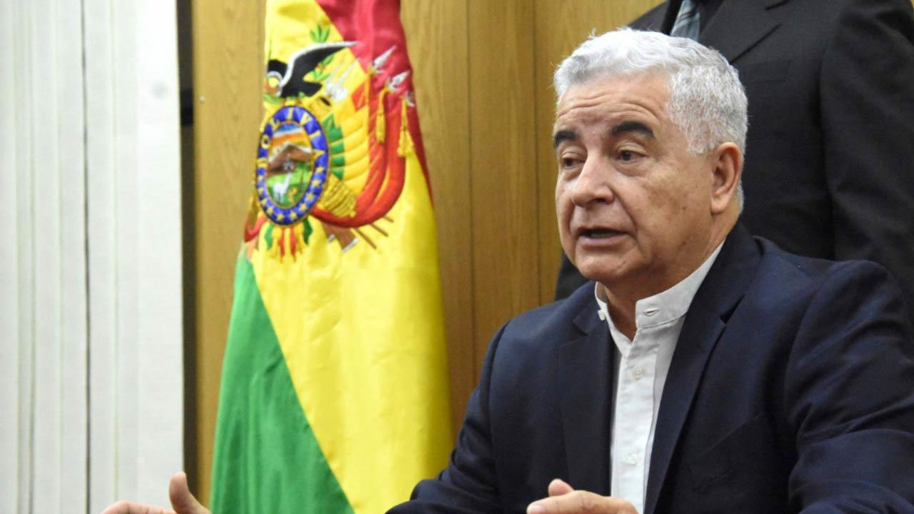 Wilfredo Rojo, ministro de Desarrollo Productivo y Economía Plural. ABI