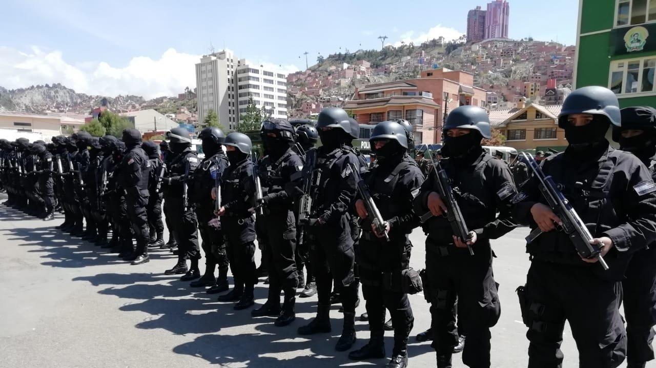 Gobierno presenta grupo policial para desarticular