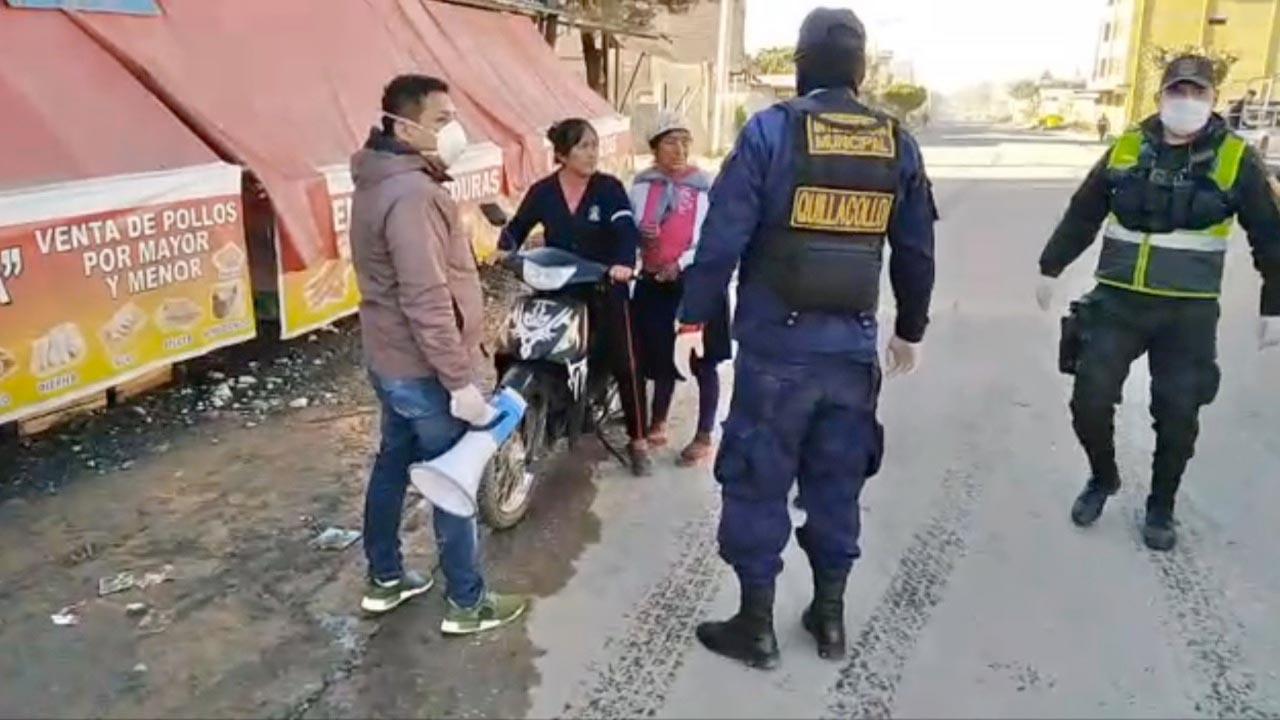Primer Dia De Cuarentena Total En Quillacollo Deja Al Menos 25 Personas Detenidas Cochabamba Opinion Bolivia