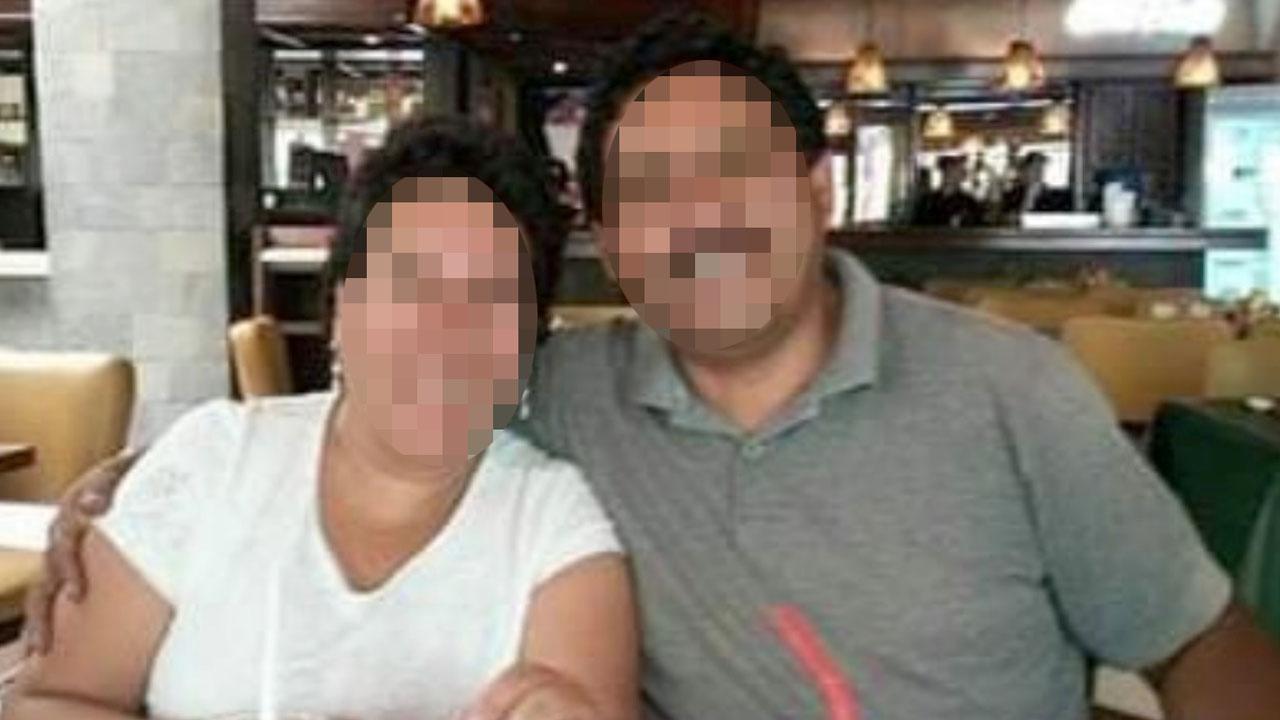 Foto de archivo muestra a la pareja en un restaurante.