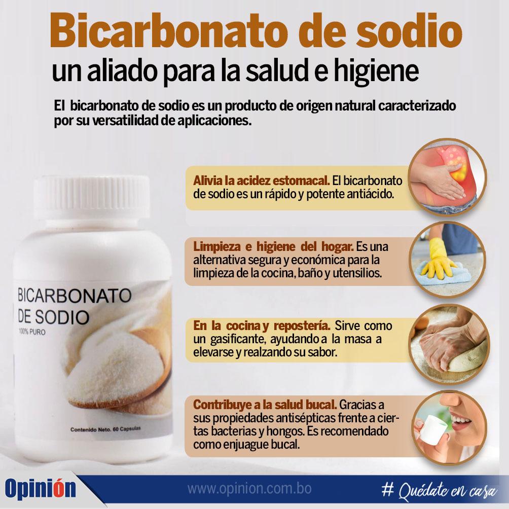 Bicarbonato De Sodio Un Aliado Para La Salud Y La Limpieza Salud Opinión Bolivia
