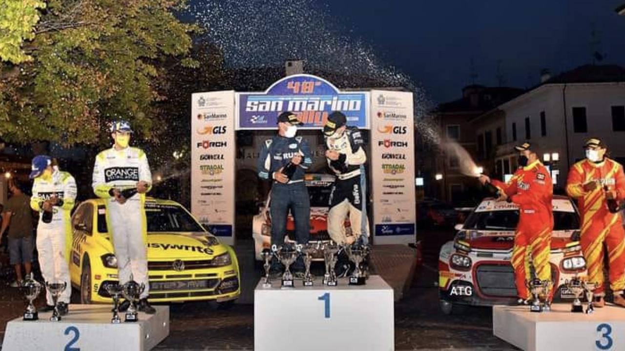 Bulacia rompe la hegemonía italiana y es campeón del Rally San Marino -  Deportes - Opinión Bolivia