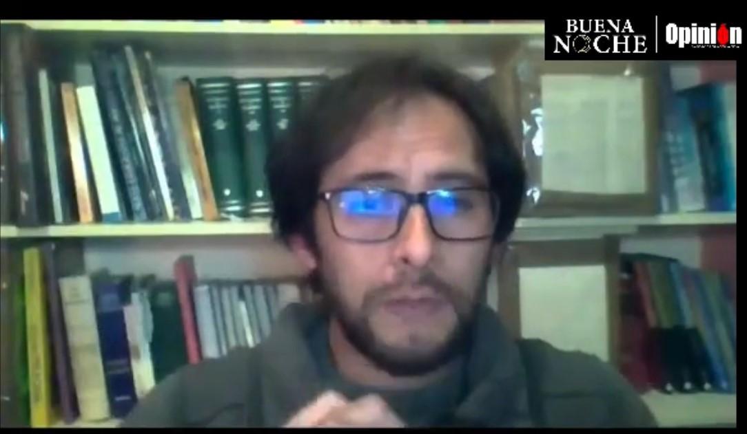 Eduardo Rojas de la Fundación Redes en Buenas Noches de Opinión.