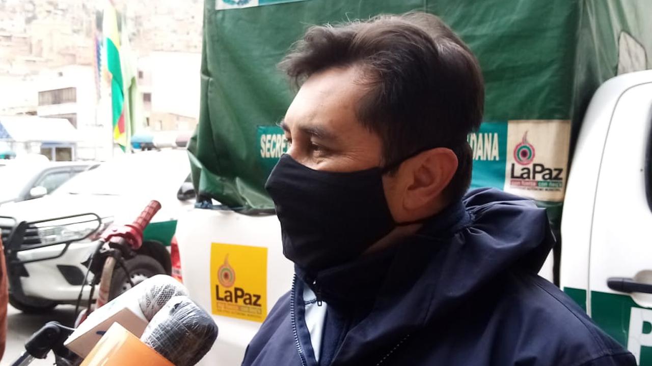 Ell jefe de la División Corrupción Pública de laFELCC de La Paz, Luis Fernando Guarachi.MINISTERIO DE MINERÍA
