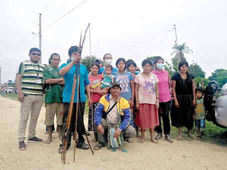 Miembros de la comunidad del TIM.