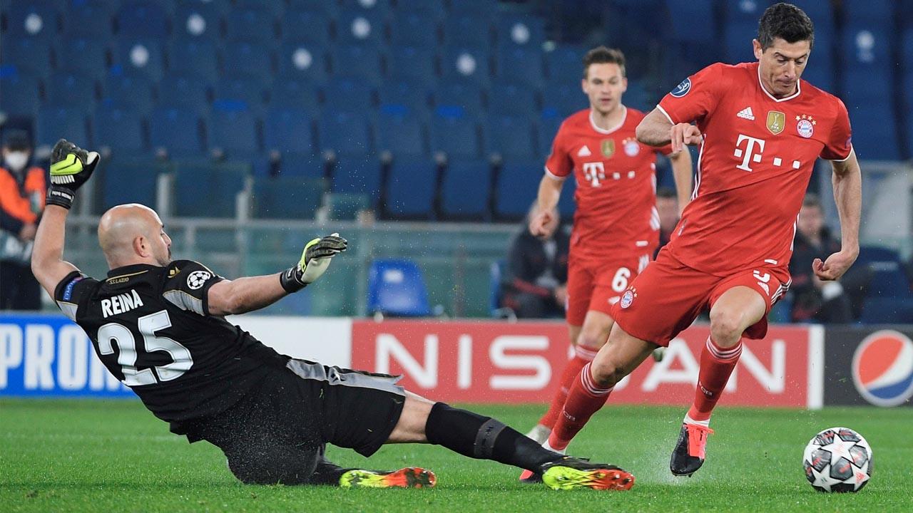 1-4. El Bayern vuelve en plan apisonadora